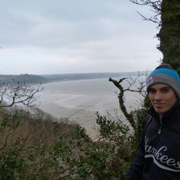 Wales Ali Tenby walk