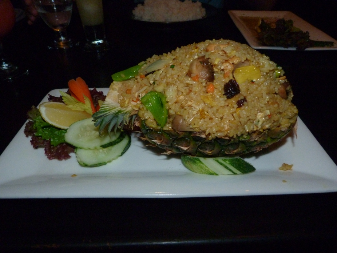 Zen Pineapple Rice Dish